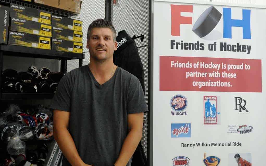 This week sees big swap event for Friends of Hockey, providing equipment for kids