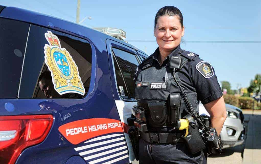 Sgt. Kelly Gibson happy to be the public face as WRPS reorganizes its North Division