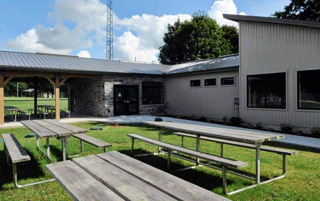 The Heidelberg Community Centre will be the scene of a formal grand opening September 9 from 1-4 p.m.