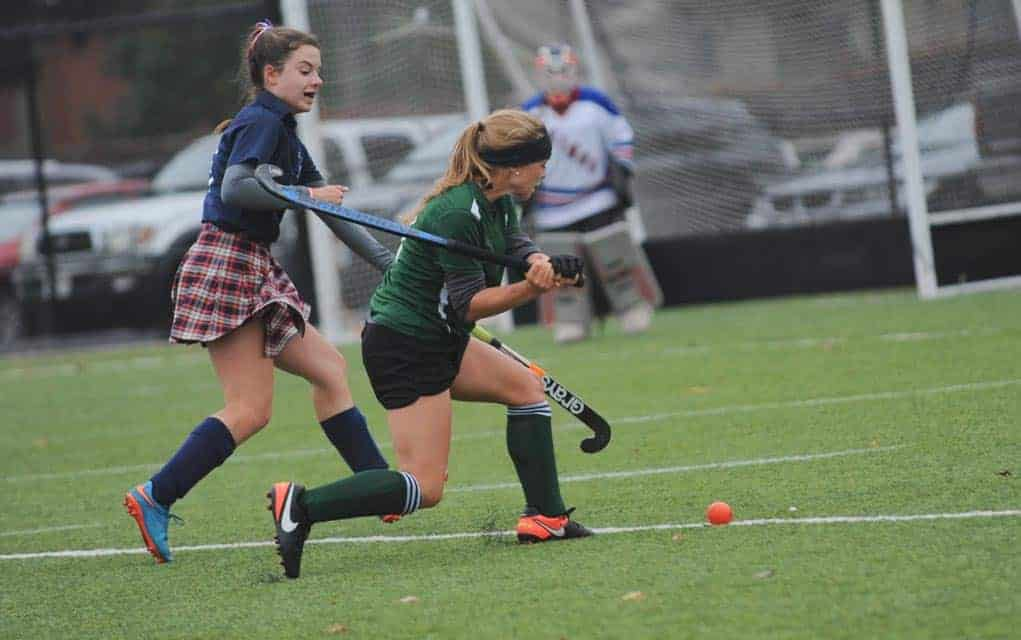 The EDSS girls' field hockey team made it to the Waterloo County semi-finals before falling to the BCI Knights on Tuesday. They will still have a shot at the Central Western Ontario games through the qualifying match later this afternoon (Thursday).