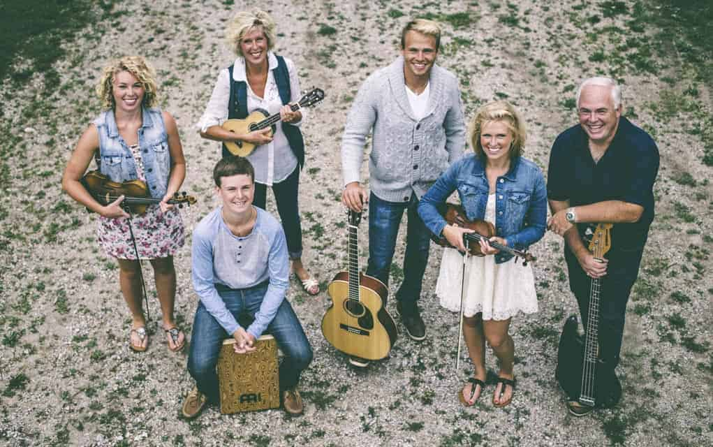 The Ballagh Family, Paige, Matthew, Janice, Michael, Devan and Gary, bring their varied talents to the stage Nov. 5 in Maryhill.