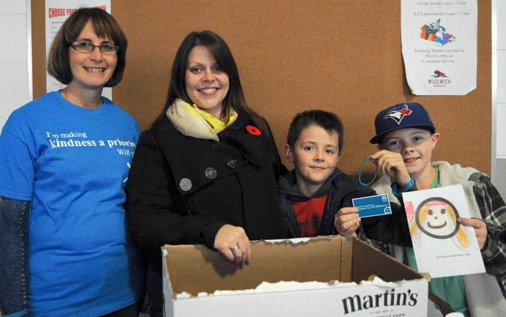 Woolwich officials on board with Random Acts of Kindness Day, launched by KWCF
