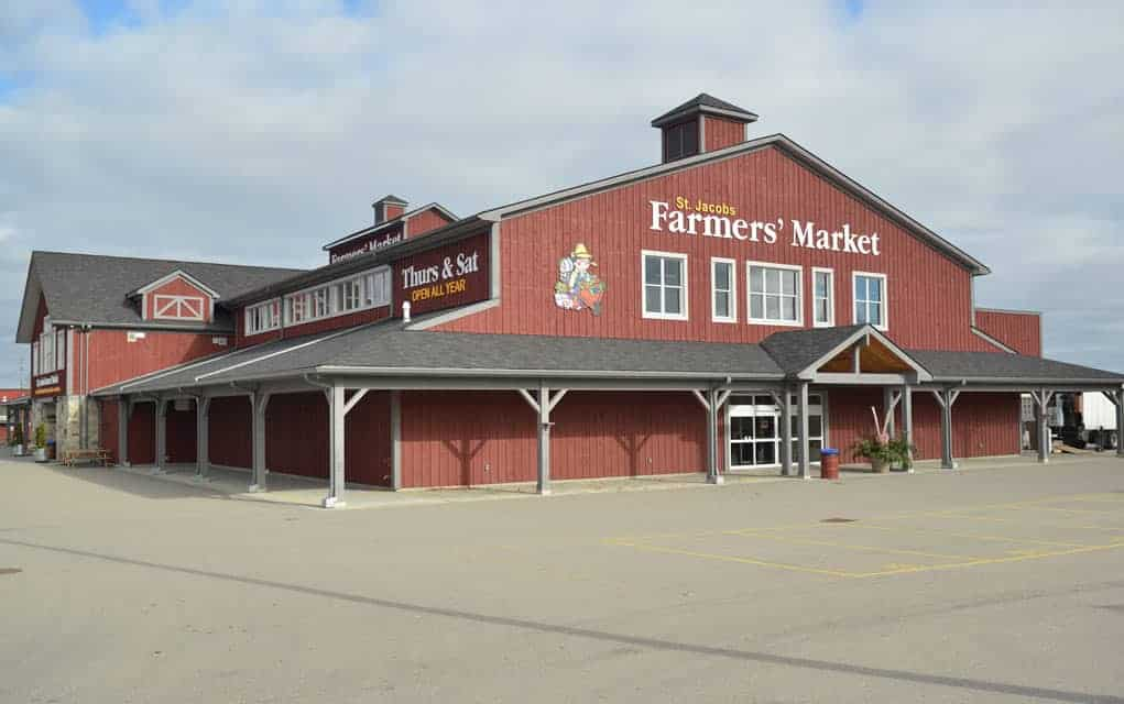 Farmers' market, surrounding land to be sold