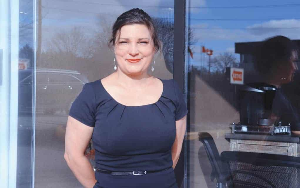 Charlene Bauer is owner of Bauer Hearing, which officially opened in Elmira on Monday. Bauer is a hearing instrument specialist, and has been in the business of hearing aids for five years.