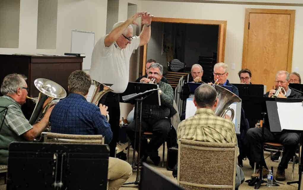 Focusing on the unique dynamics of the instruments, the King Street Brass Band meets twice a month in Breslau