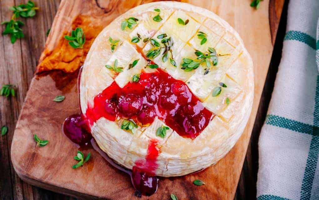 Fruit and Nut Brie