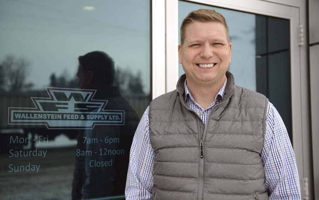 Wendell Schumm will be moderating a panel of local producers at the Wallenstein Feed & Supply's first dairy producers meeting on Jan. 31 at the Linwood Recreation Complex. The day will include expert guest speakers Dr. Stephen LeBlanc and Milos Haas.