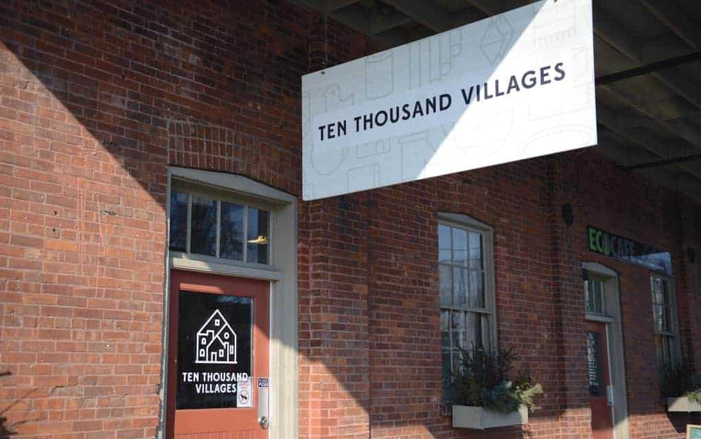 The Ten Thousand Villages shop in St. Jacobs is one of nine slated to be closed as MCC reviews the profitability of its retail outlets.