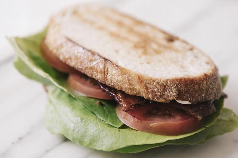 Putting a different spin on the classic BLT